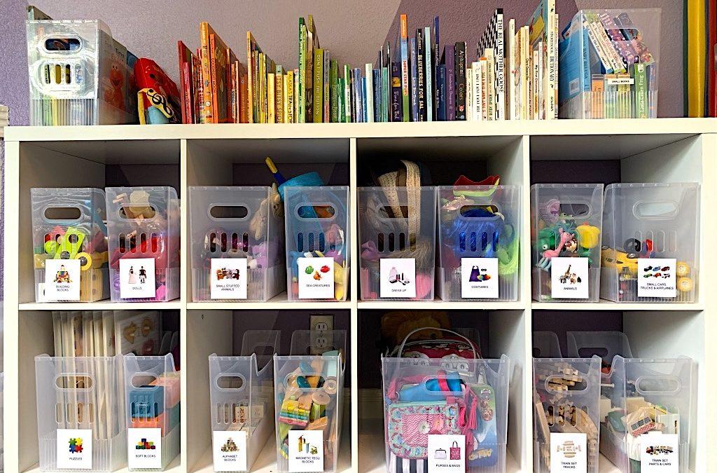 Keeping Kids' Play Areas Organized